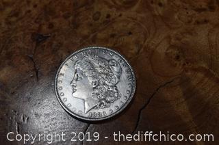 1883 O Morgan Dollar 90% Silver