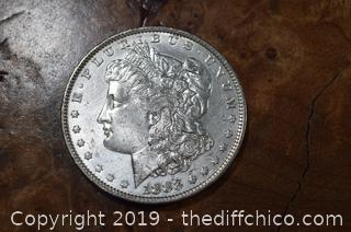 1883 Morgan Dollar 90% Silver