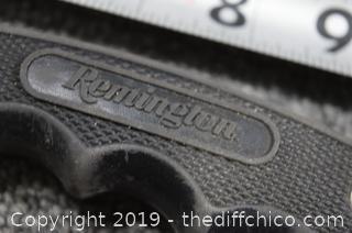 Remington Knife w/Case