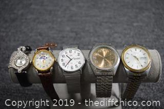 5 Ladies Watches