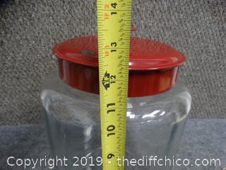 Glass Jar w/Lid