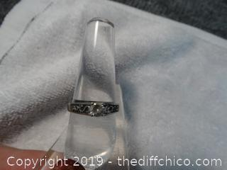 Size 9 Ring With Stone
