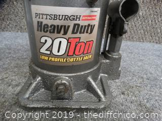 Pittsburgh Heavy Duty Bottle Jack