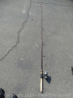Bass Out Door America Fishing Pole 6.6FT