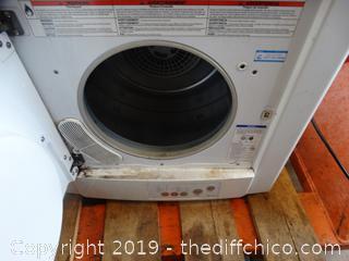 Stackable Dryer Wks