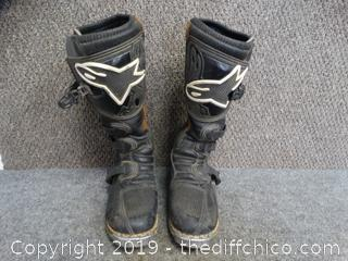 Alpine Stars Riding Boots SZ 8