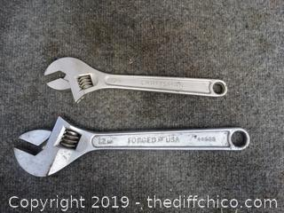 Craftsman  Crescent Wrenches