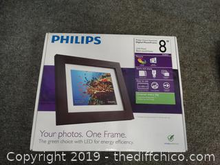 Philips Digital Picture Frame New in Box