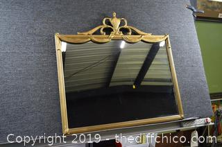 Frame Vintage Mirror