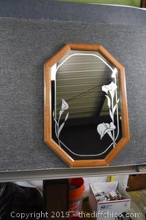 Frame Etched Mirror