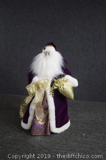 Collectible Christmas Santa Tree Top