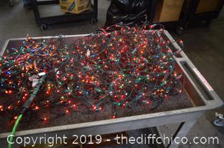 4 Strand of Working Christmas Tree Lights