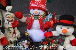 Snowmen Lot