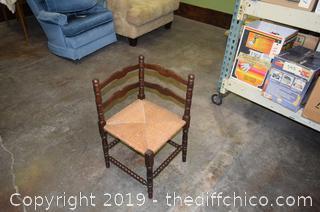 Vintage Corner Chair