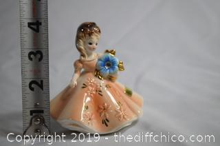Vintage Josef Original Porcelain Girl