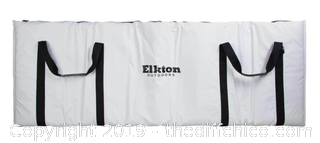 "Elkton Outdoors Fish Cooler Bag With Carry Strap & Storage Bag - 60"" x 20"" (J22)"