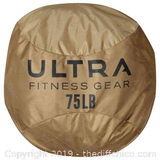 Ultra Fitness Gear Soft Atlas Stone Sandbag - 75 lbs. (J24)