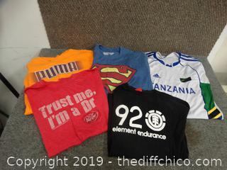 S M L Shirts