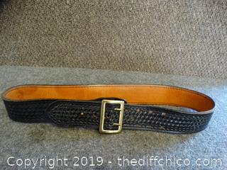 Leather Grain Belt