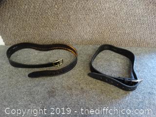 2 Belts  1-36   - 34
