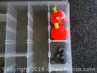 Organizer With Fishing Stuff