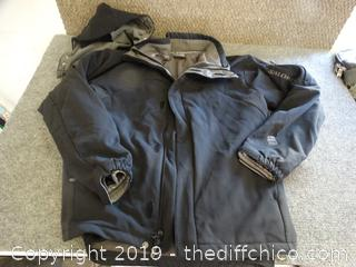 Saloman Jacket With Hood med