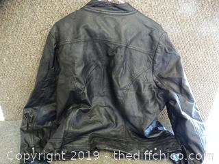 JoyJoy 2X Leather Jacket