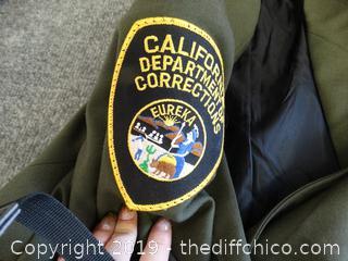 Size 14 Correction Officer uniform