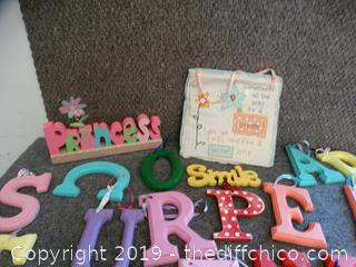 Wood Letters & More