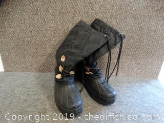 Steel Shank Boots Size 10
