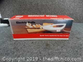 Hamilton Beach Electric Knife wks