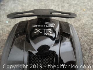 Whistler XTR 538 Radar Detector no cord