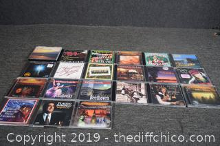 21 CD's