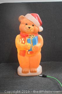 Working Christmas Bear