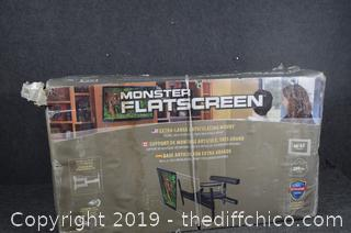 NIB Monster Flatscreen Mount