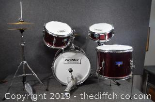 FirstAct Discovery Drum Set