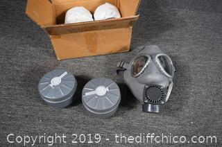 Gas Mask plus Filters