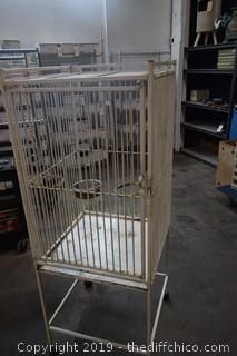 Rolling Bird Cage