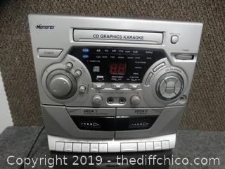 Memorex CD Graphics Karaoke Maxhine work