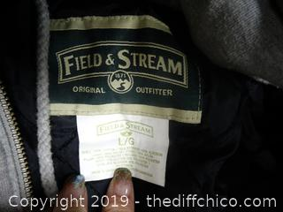 Field and Stream Coat Flannel large