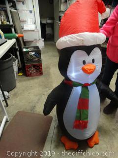 Blowup Christmas Yard Decor