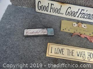 Fun Wood Signs