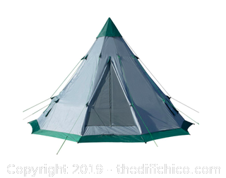 WINTERIAL TEEPEE TENT: 6-7 PERSON TENT (J24)