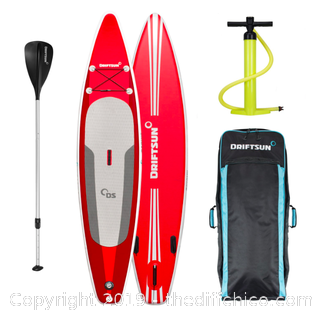 "Driftsun 11' 8"" Touring SUP Inflatable Stand Up Paddle Board (J108)"