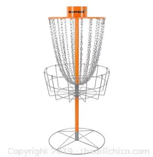 Driftsun Typhoon Heavy Duty Disc Golf Basket, Portable Practice Target (J109)