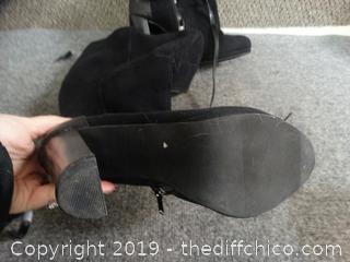 Black Boots Size 10