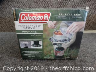 Coleman Perfect  Flow Stove 1 Burner