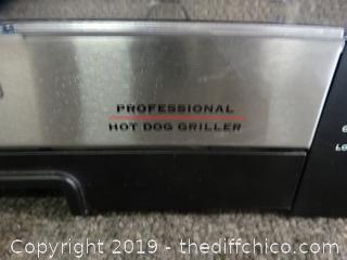 Professional Hot Dog Griller wks