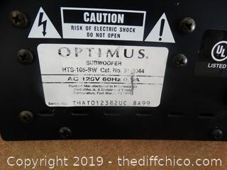 Optimus Subwoffer untested