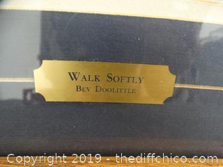 Walk Softly BY Bev Doolittle